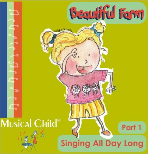 Beautiful Farm Preschool Music Lesson Plan