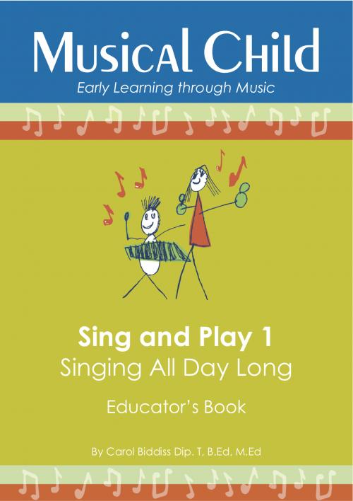 Sing and Play 1 Preschool Music Program