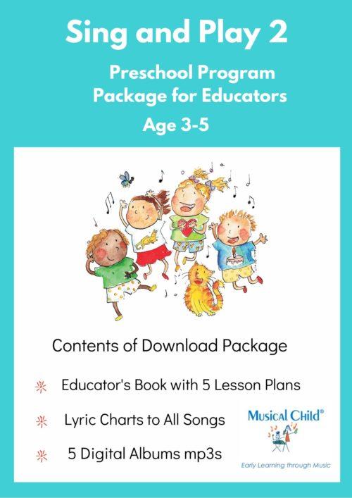 Sing and Play 2 Preschool Music Program