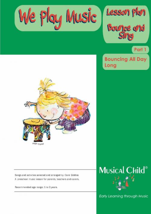 We Play Music Toddler Music Lesson Plan
