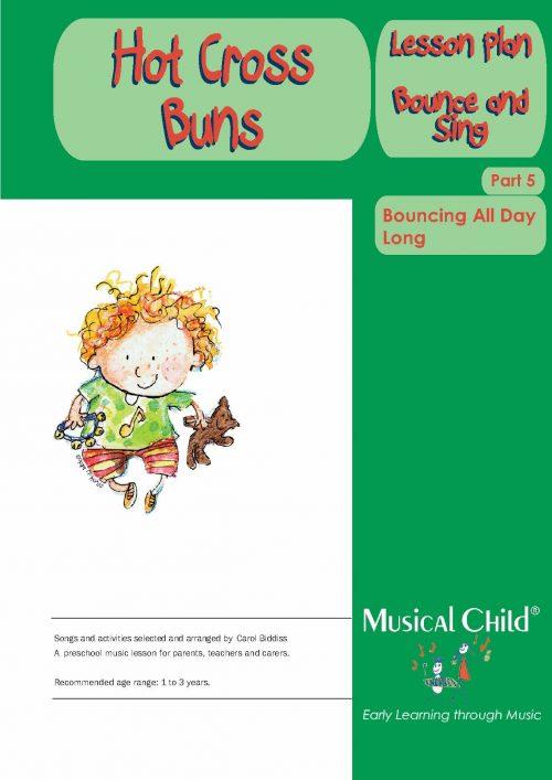 Hot Cross Buns Toddler Music Lesson Plan