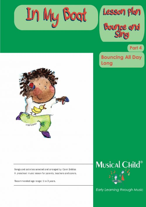 In My Boat Toddler Music Lesson Plan