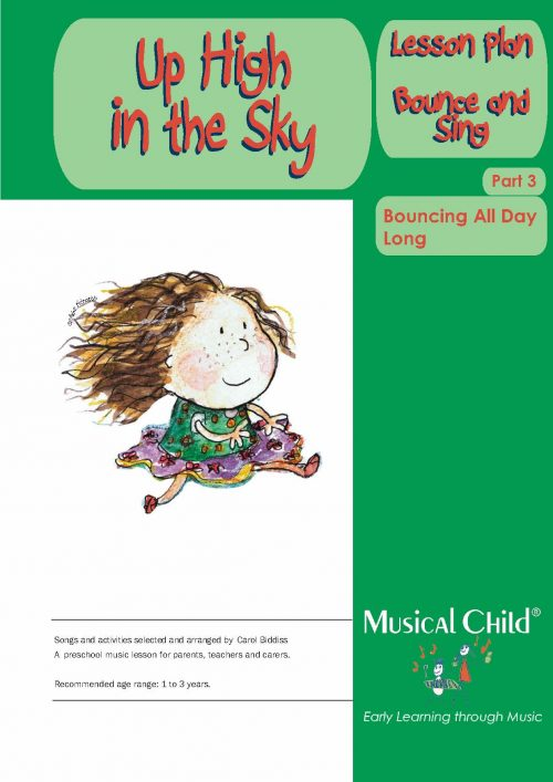 Up High in the Sky Toddler Music Lesson Plan