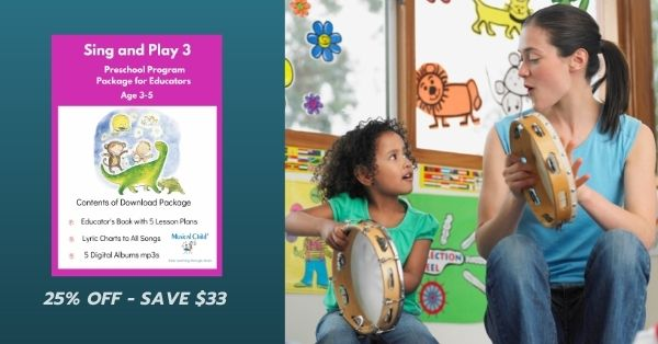 25% off Sing and Play 3