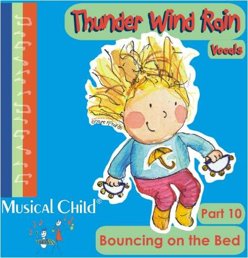 Album art vocals toddler weather lesson