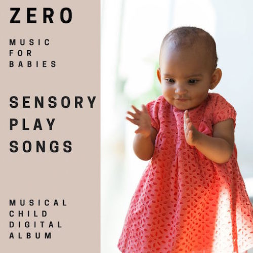baby snesory play songs album cover