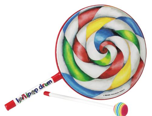 """Lollipop Drum 8"""""""